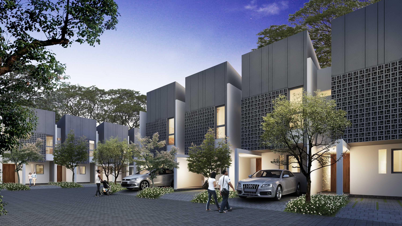 Axialstudio Akasia Residence Pamulang, South Tangerang City, Banten, Indonesia Pamulang, South Tangerang City, Banten, Indonesia Akasia-Type-B-Cam01 Modern  30681