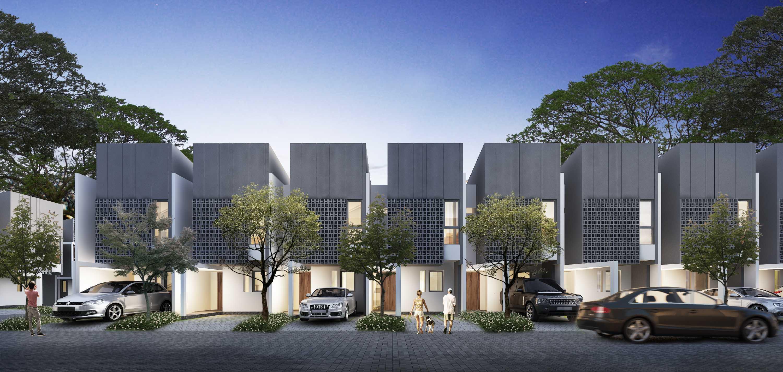 Axialstudio Akasia Residence Pamulang, South Tangerang City, Banten, Indonesia Pamulang, South Tangerang City, Banten, Indonesia Akasia-Type-B-Cam03 Modern  30683