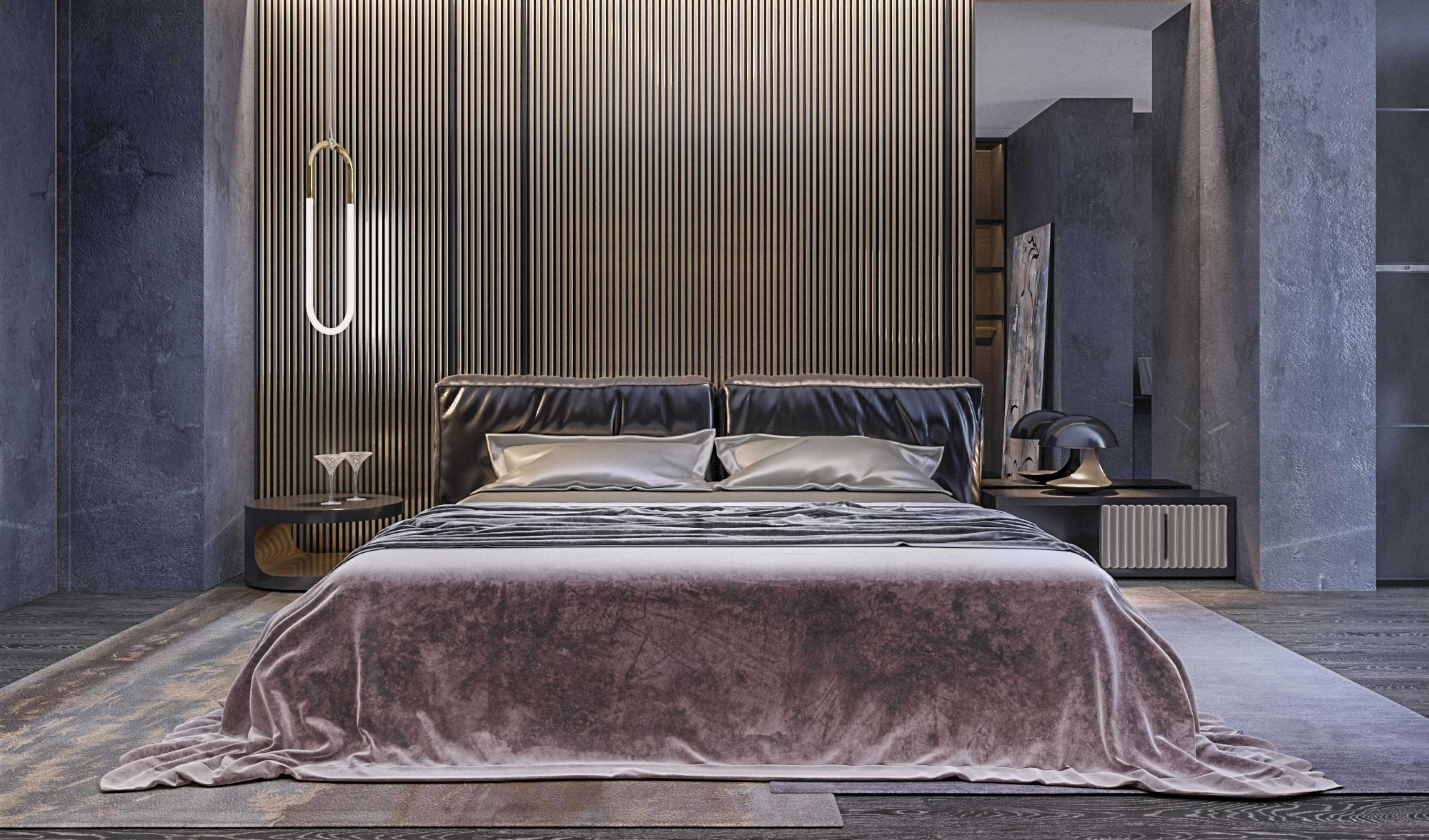 Dmitriy Myakota Stylish Men's Apartment In Kiev Kiev Kiev Bedroom   29276
