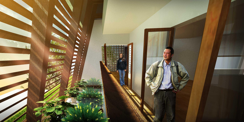 Pds (Prasidhanta Design Studio) Provident Housing Pangkal Pinang Pangkal Pinang Render-4 Modern,tropis  29972