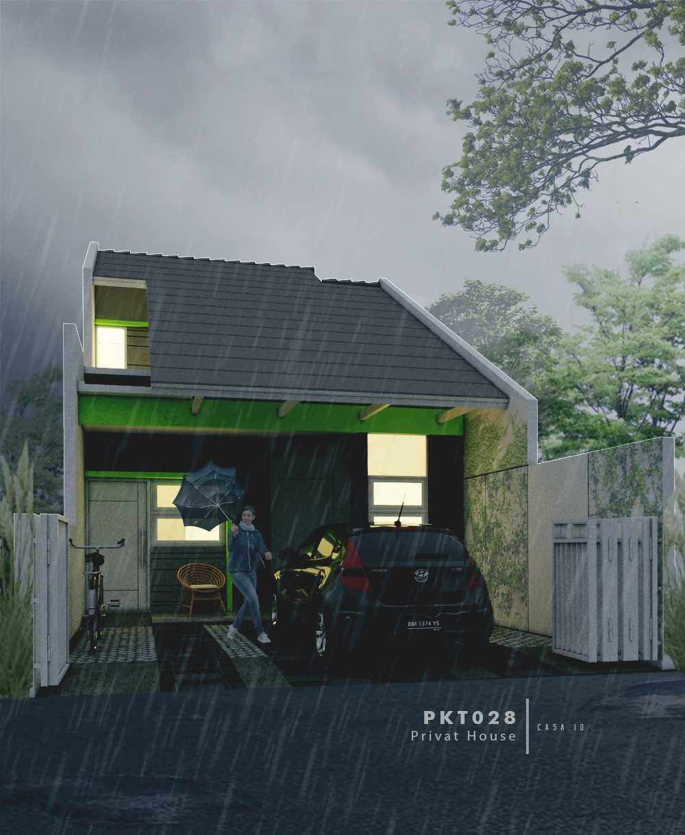 Casa.id Architecture & Design Pkt28 Kota Pekanbaru, Riau, Indonesia Kota Pekanbaru, Riau, Indonesia Exterior View Tropical  40550