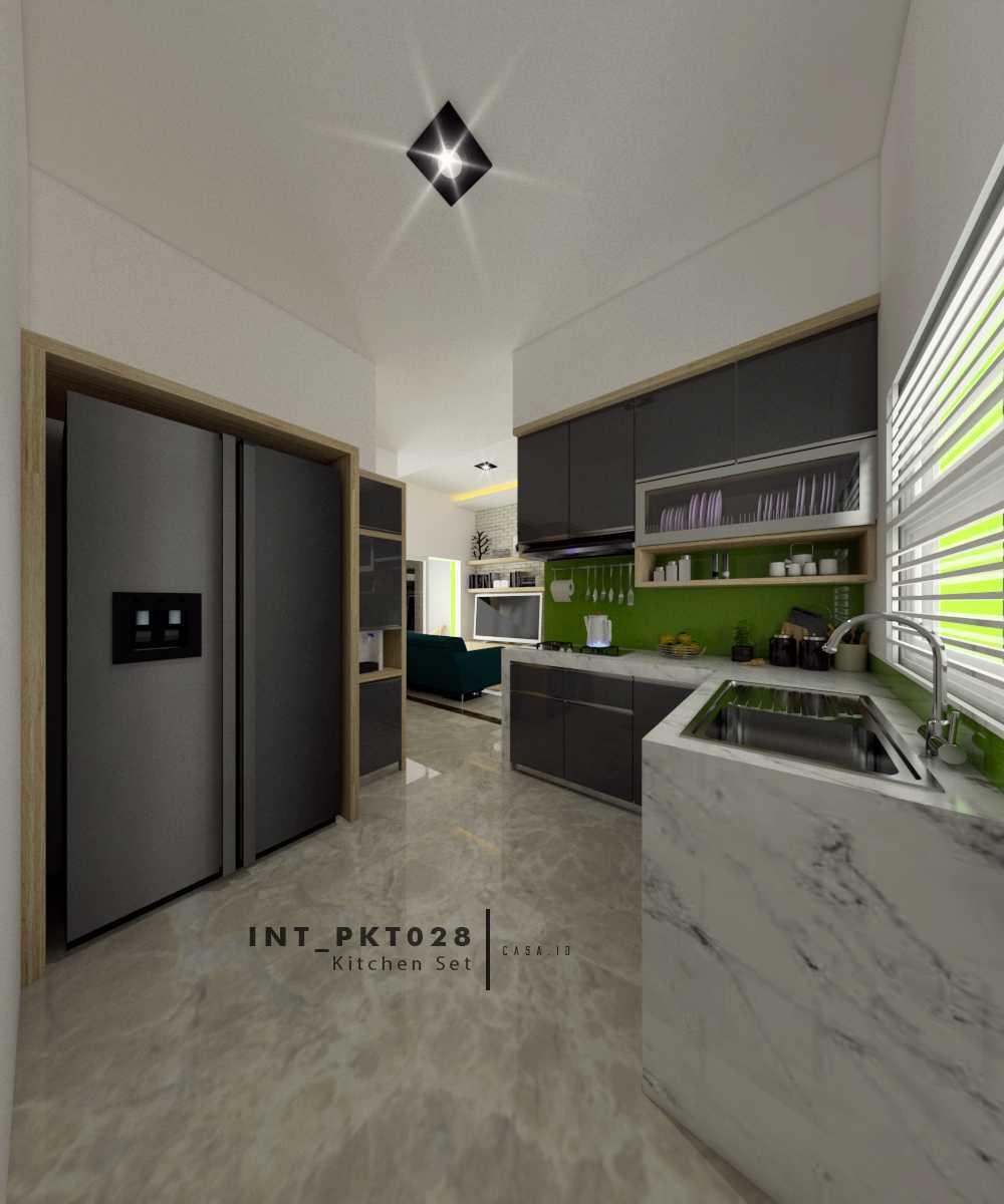 Casa.id Architecture & Design Pkt28 Kota Pekanbaru, Riau, Indonesia Kota Pekanbaru, Riau, Indonesia Kitchen Set Tropical  40553