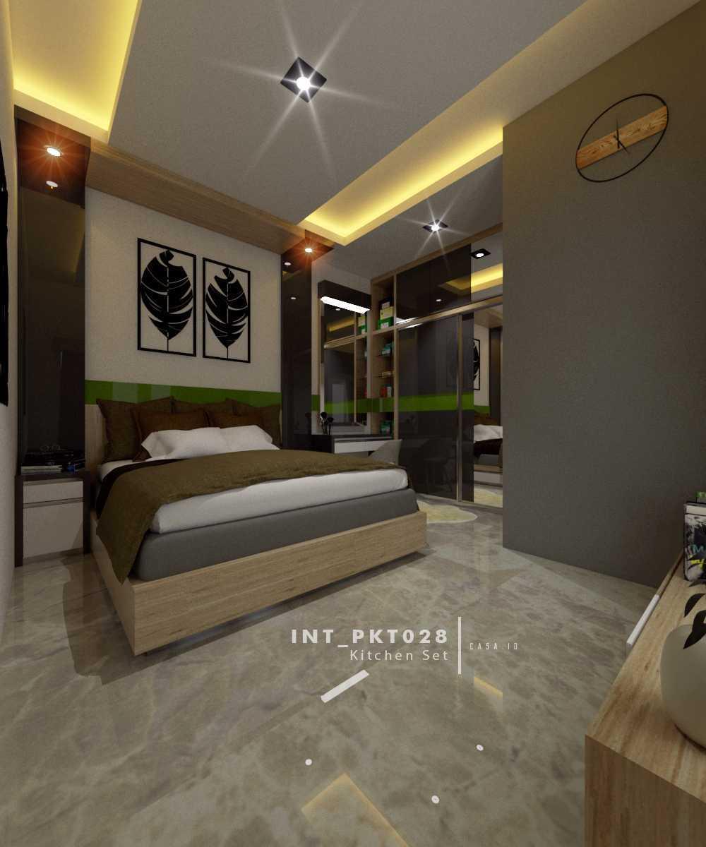 Casa.id Architecture & Design Pkt28 Kota Pekanbaru, Riau, Indonesia Kota Pekanbaru, Riau, Indonesia Master Bedroom Tropical  40554