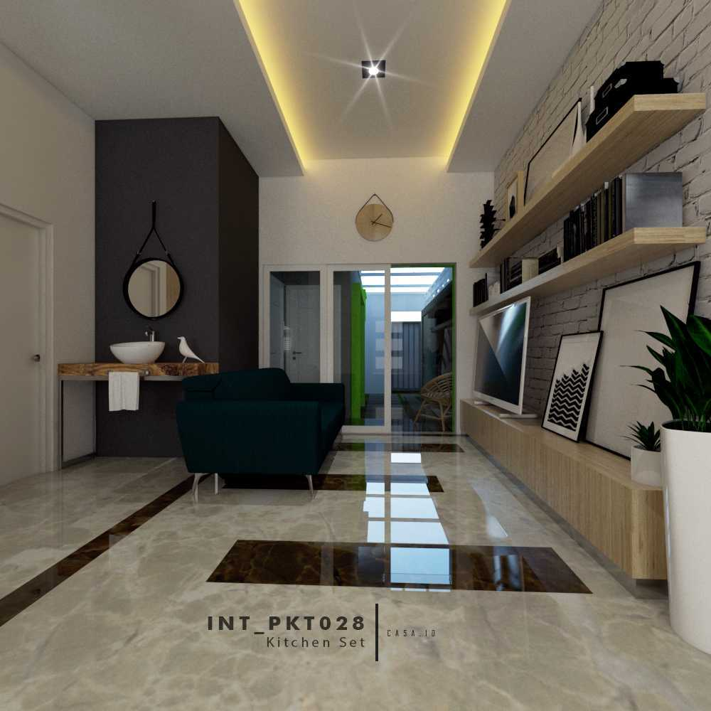 Casa.id Architecture & Design Pkt28 Kota Pekanbaru, Riau, Indonesia Kota Pekanbaru, Riau, Indonesia Ruang Keluarga Tropical  40555