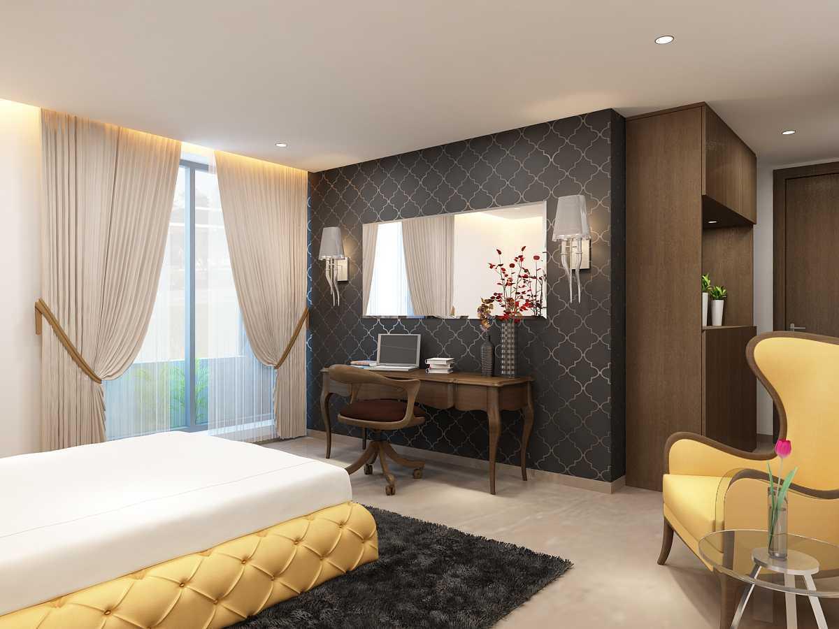 Saka Design Lab Private Residential _ 2 Dhanori Lohagaon Rd, Kutwal Colony, Lohgaon, Pune, Maharashtra 412105, India India Guest-Room-C2 Modern  35003
