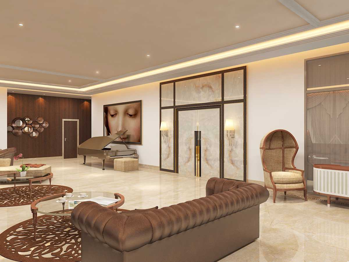 Saka Design Lab Private Residential _ 3 India India Jhlp-Hyderabad-Living-R-C5 Kontemporer  35016
