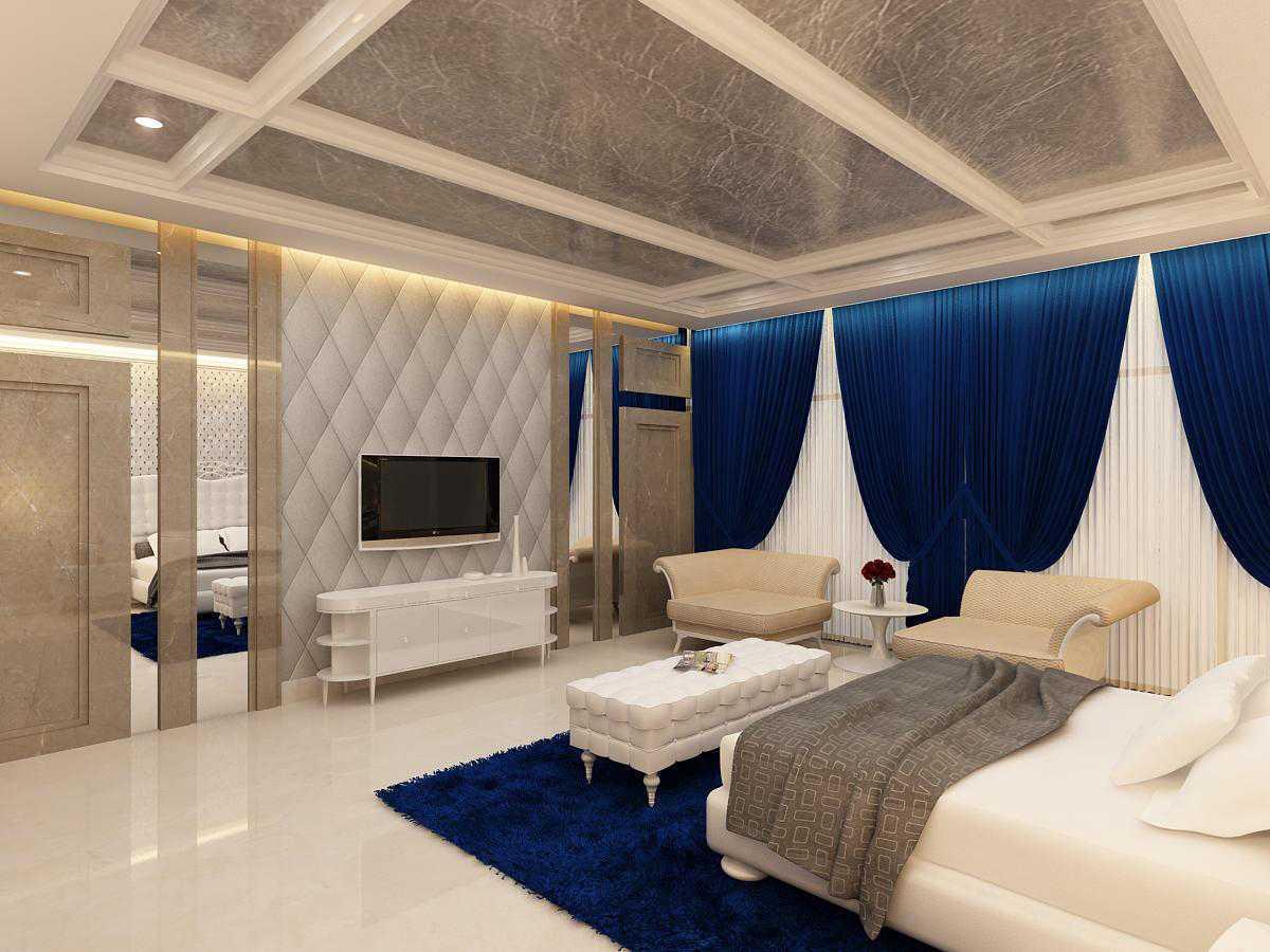 Saka Design Lab Private Residential _ 3 India India Master-Bed-C2Rev2 Kontemporer  35021