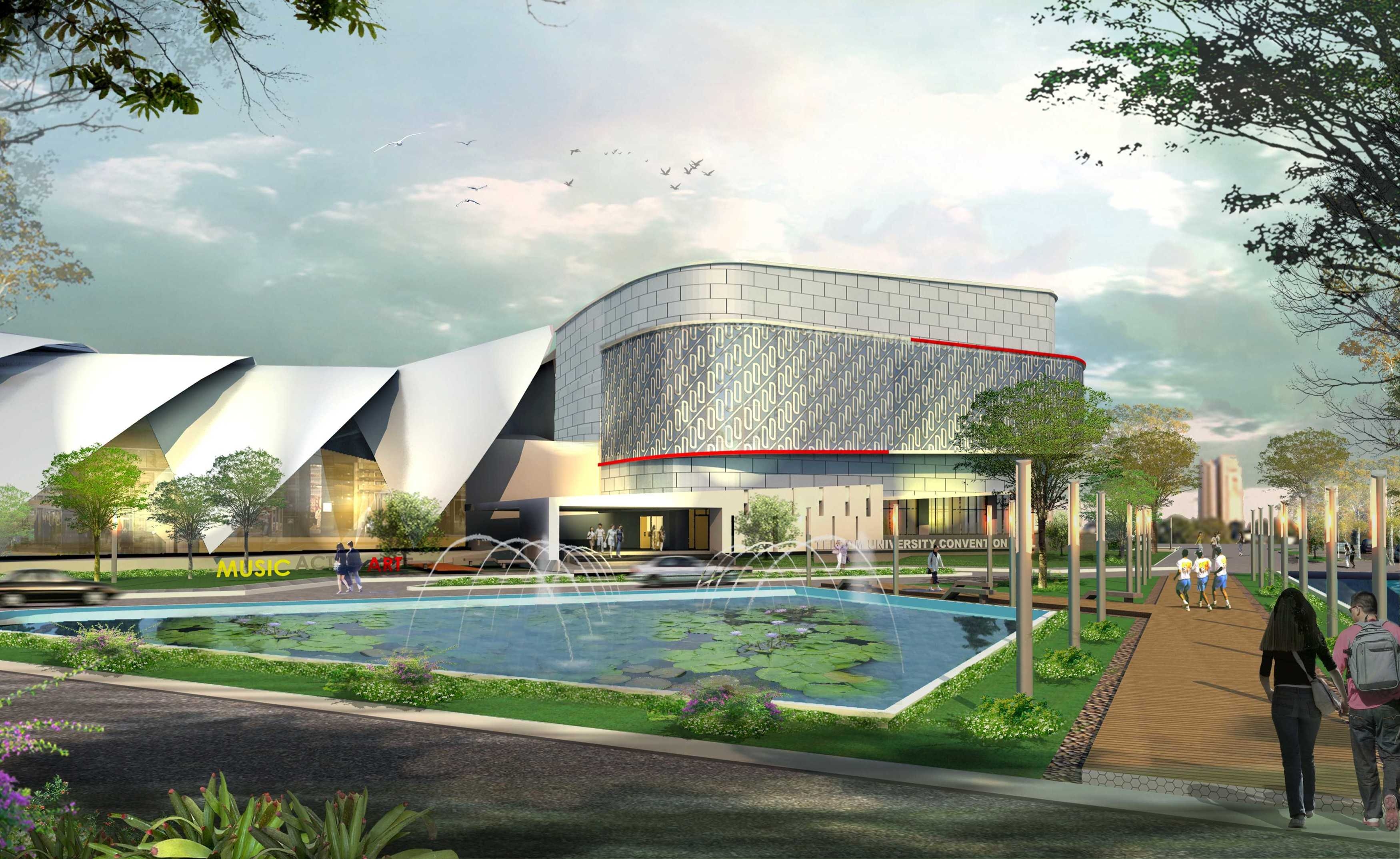Arah Studio Telkom University Convention Hall Kota Bandung, Jawa Barat, Indonesia Kota Bandung, Jawa Barat, Indonesia Exterior View Phase 1   31704