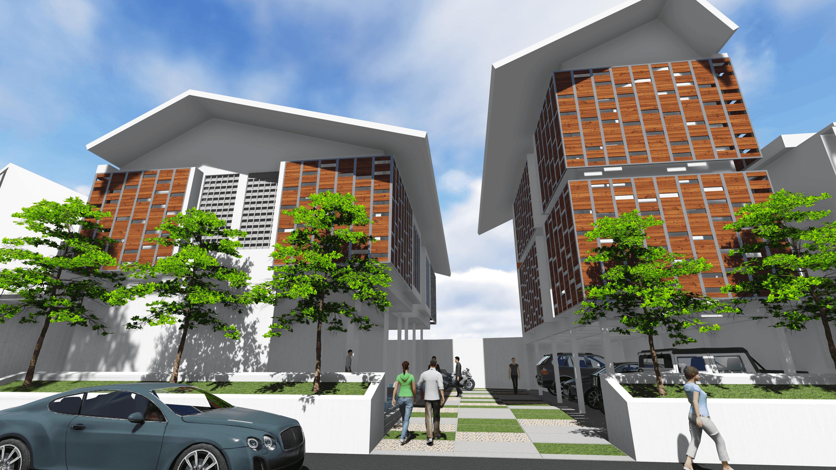 Arah Studio Simongan  Mini Apartment Semarang, Kota Semarang, Jawa Tengah, Indonesia Semarang, Kota Semarang, Jawa Tengah, Indonesia Exterior 4 Kontemporer  31727