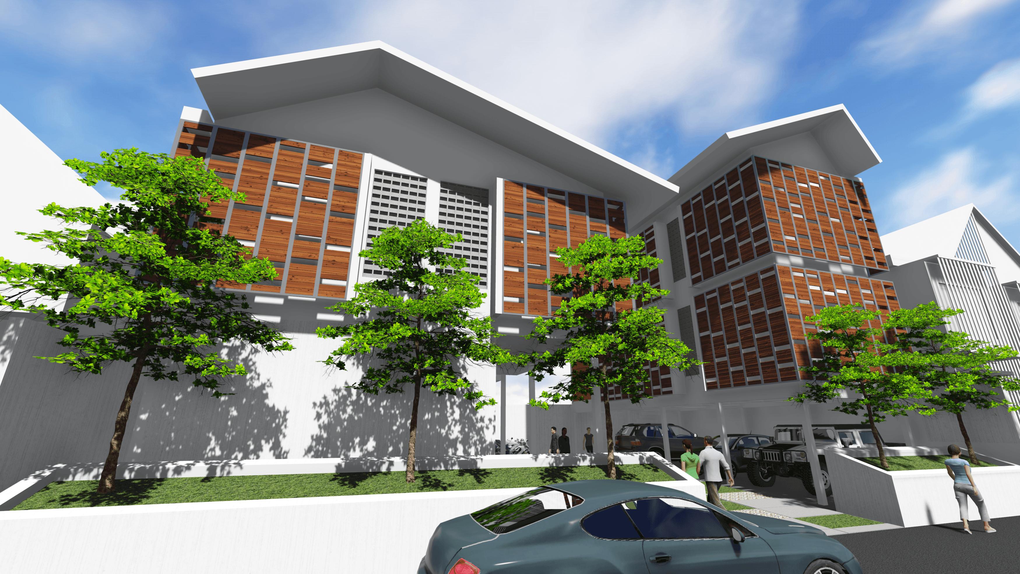 Arah Studio Simongan  Mini Apartment Semarang, Kota Semarang, Jawa Tengah, Indonesia Semarang, Kota Semarang, Jawa Tengah, Indonesia Exterior 3 Kontemporer  31729