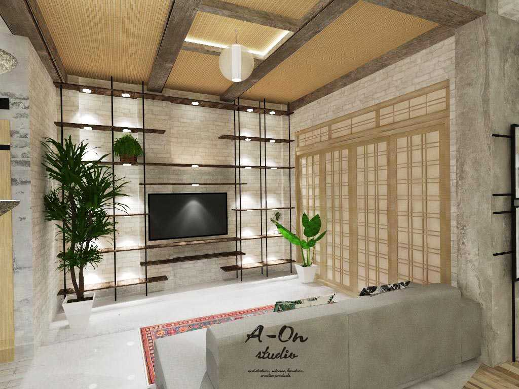 A-On Studio House Of Azwar Setiabudi, South Jakarta City, Jakarta, Indonesia Setiabudi, South Jakarta City, Jakarta, Indonesia Rev2Lt1C251216 Tropis,modern Living Room 34728