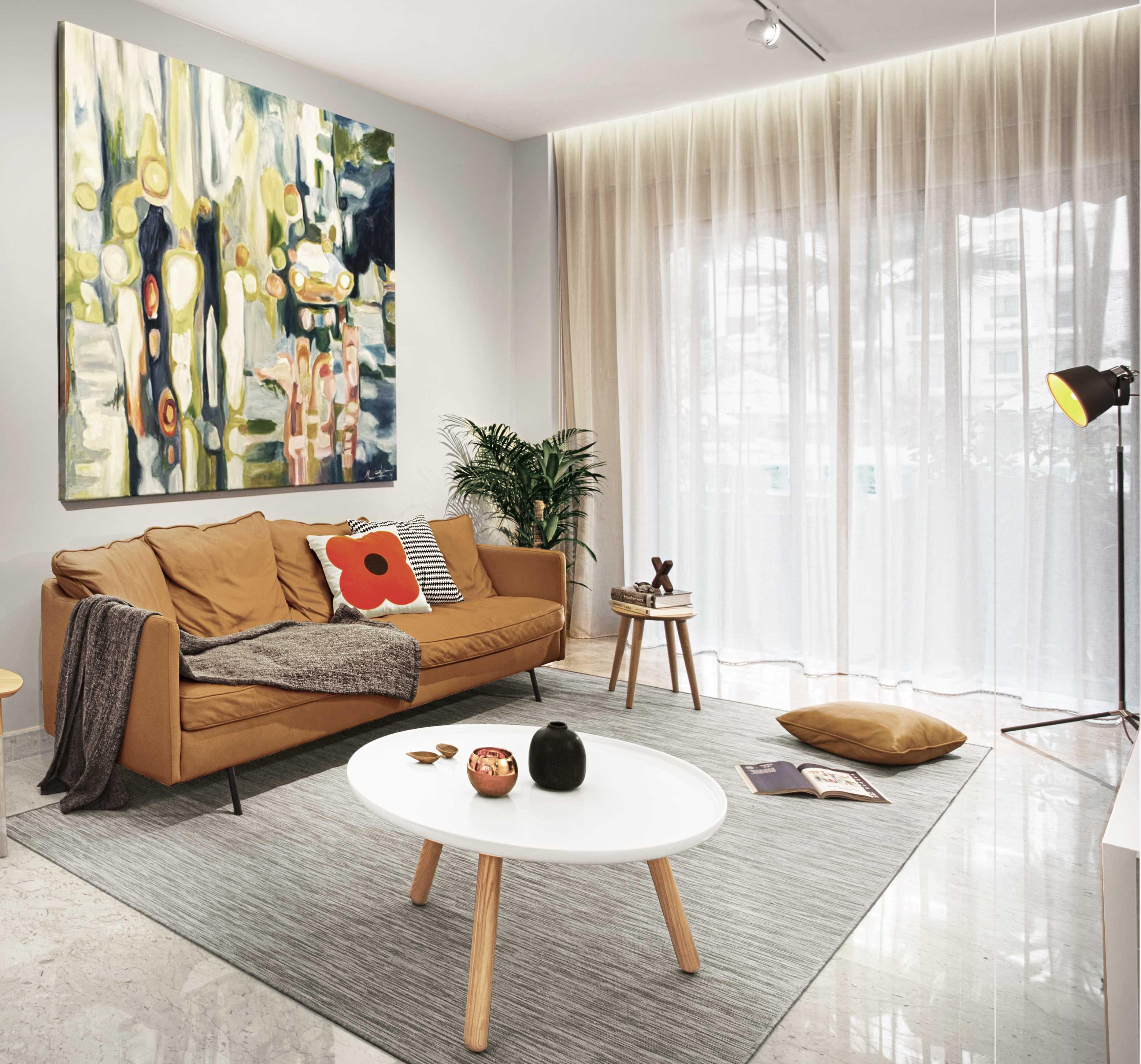 Studio Dinding Project A Residence Indonesia  Living-Room Skandinavia  34523