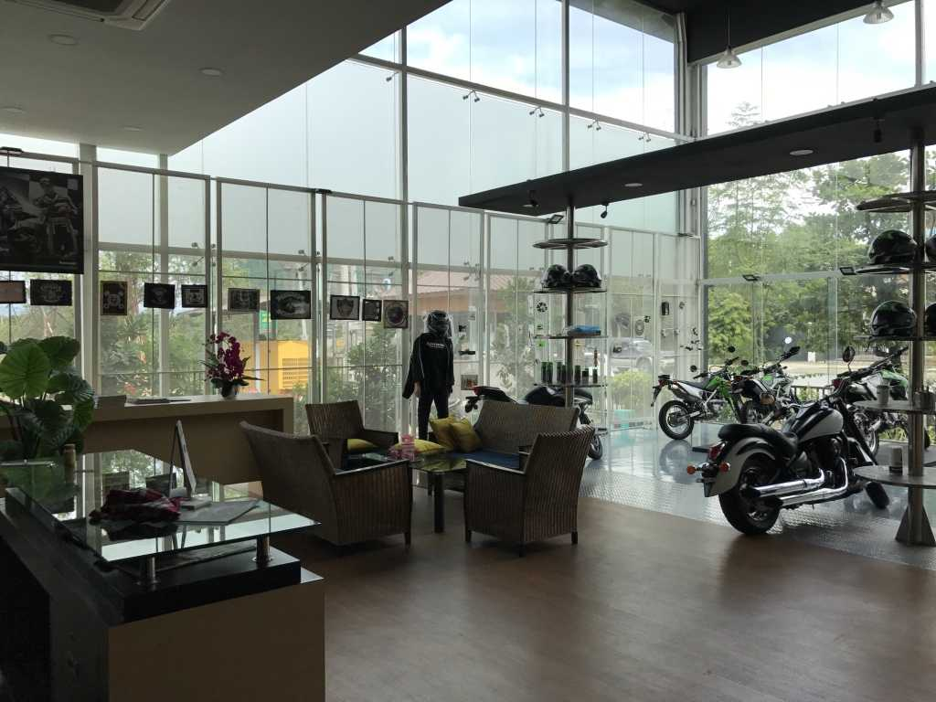 Ardea Architects Kawasaki Showroom - Umg Mandalay, Myanmar (Burma) Mandalay, Myanmar (Burma) Interior Showroom Modern  40453