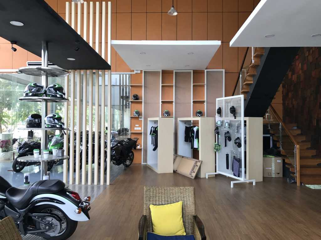 Ardea Architects Kawasaki Showroom - Umg Mandalay, Myanmar (Burma) Mandalay, Myanmar (Burma) Interior Showroom Modern  40457