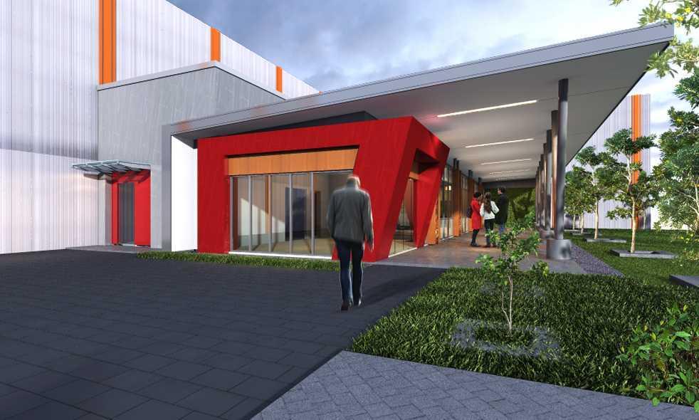 Limasaka Studio Pt. Sari Husada 2  Office Klaten, Klaten Regency, Central Java, Indonesia Klaten, Klaten Regency, Central Java, Indonesia Perspektif-Fasade01 Modern  36348