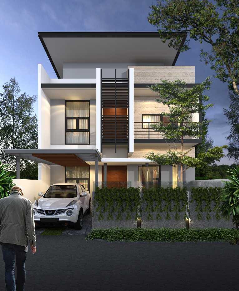 Limasaka Studio Mr. At House Ciledug, Tangerang City, Banten, Indonesia Ciledug, Tangerang City, Banten, Indonesia Perspektif-1Rev-01 Modern  36433