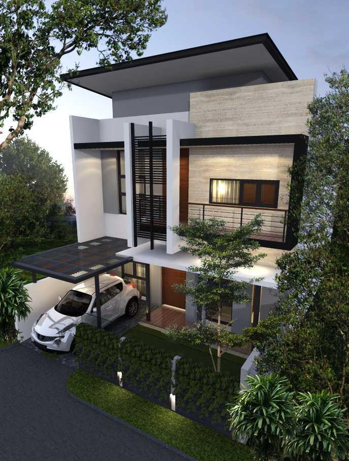 Limasaka Studio Mr. At House Ciledug, Tangerang City, Banten, Indonesia Ciledug, Tangerang City, Banten, Indonesia Perspektif-2Rev Modern  36434