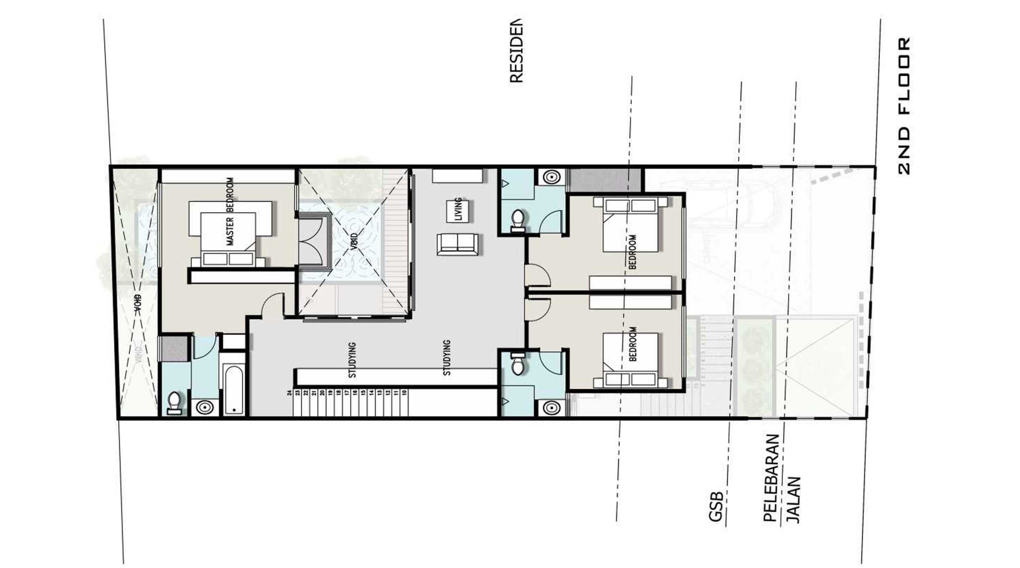 Zigzag Architecture Studio F House Kemang - Pedurenan Daerah Khusus Ibukota Jakarta, Indonesia Daerah Khusus Ibukota Jakarta, Indonesia 2   37009