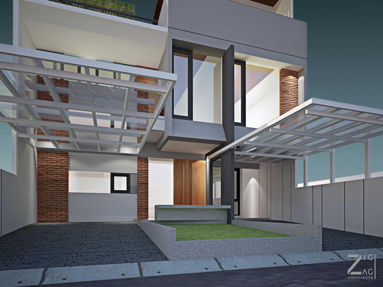 Zigzag Architecture Studio Pulomas House Daerah Khusus Ibukota Jakarta, Indonesia  02   37596