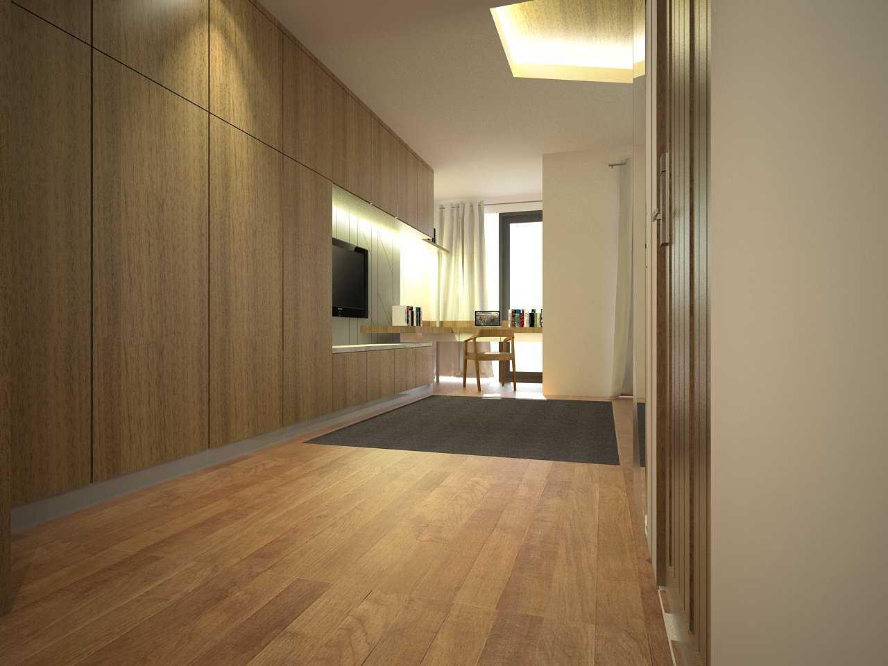 Zigzag Architecture Studio Pulomas House Daerah Khusus Ibukota Jakarta, Indonesia  Masterbed-R2-View03   37600