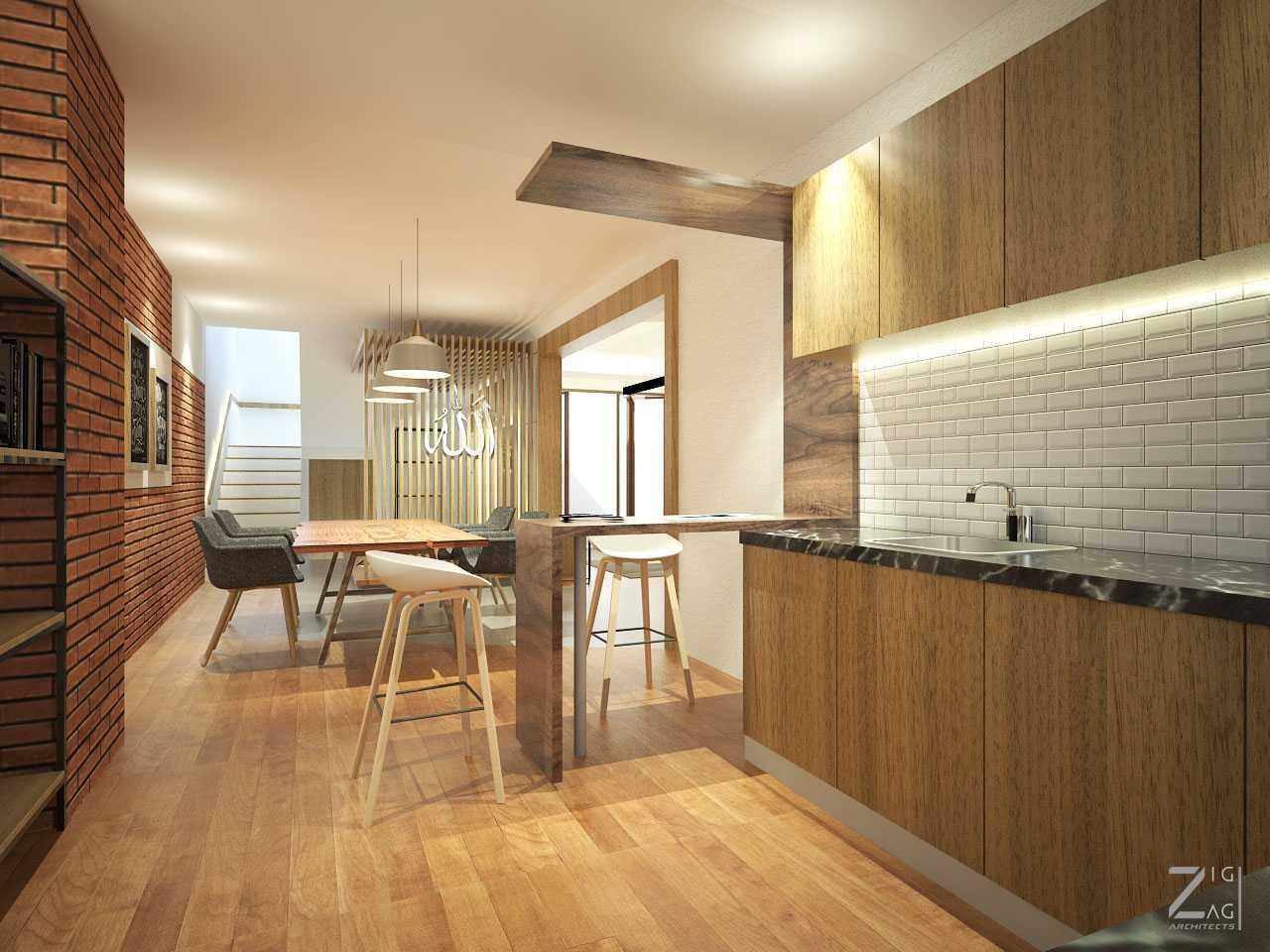 Zigzag Architecture Studio Pulomas House Daerah Khusus Ibukota Jakarta, Indonesia  Dining-View02   37602