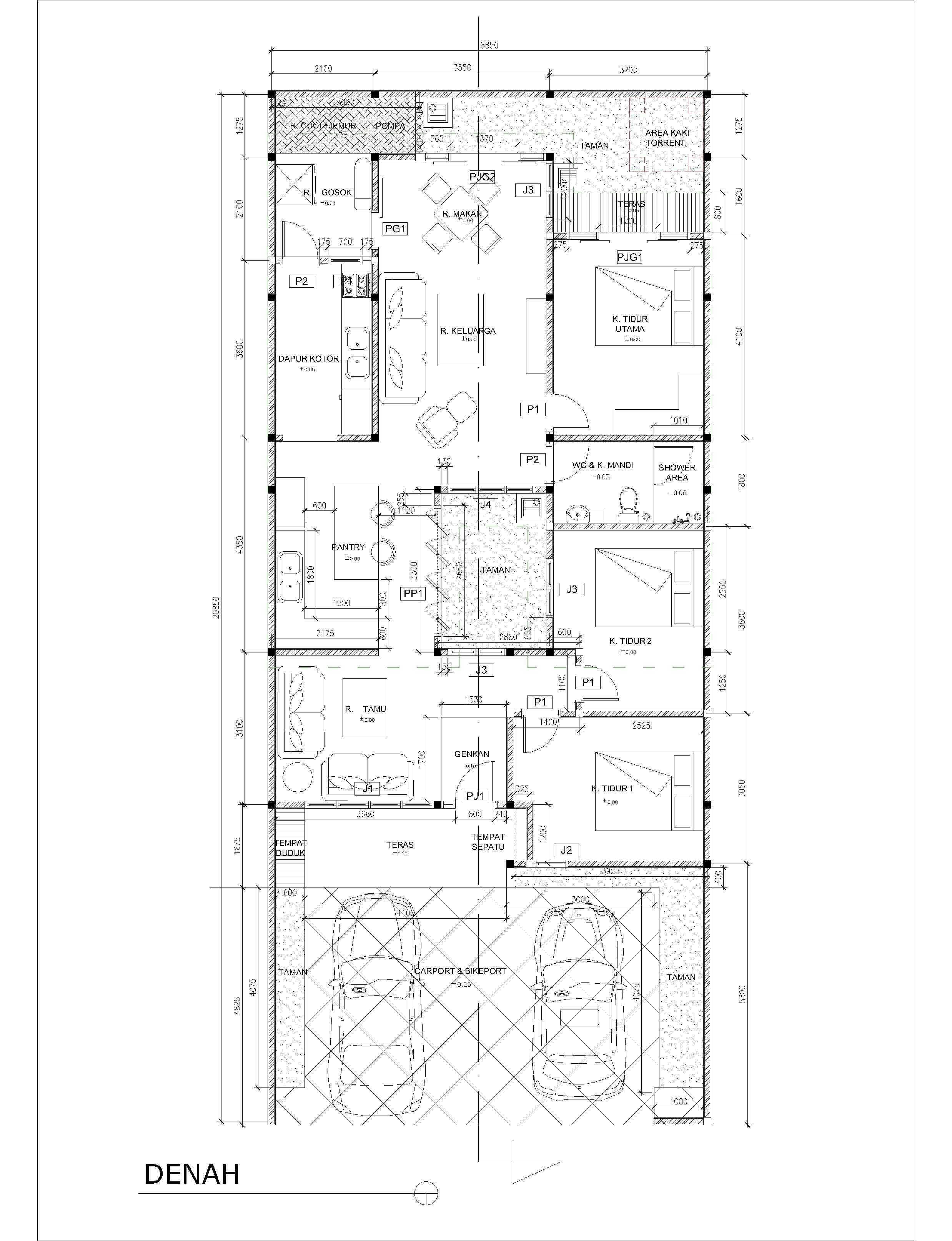 Bingkai Arsitektur House Bekasi, Tambelang, Bekasi, Jawa Barat, Indonesia Bekasi, Tambelang, Bekasi, Jawa Barat, Indonesia House Minimalist  40607