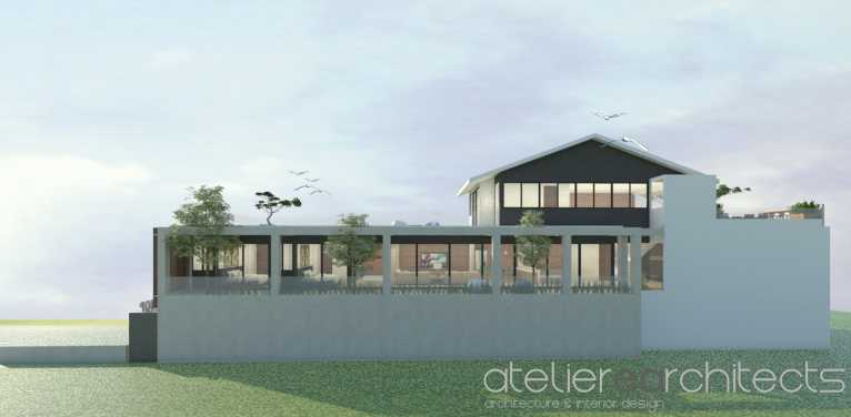 Ateliere Architects Ar House Kalimantan Timur, Indonesia Kalimantan Timur, Indonesia Ar House - Back View   40766