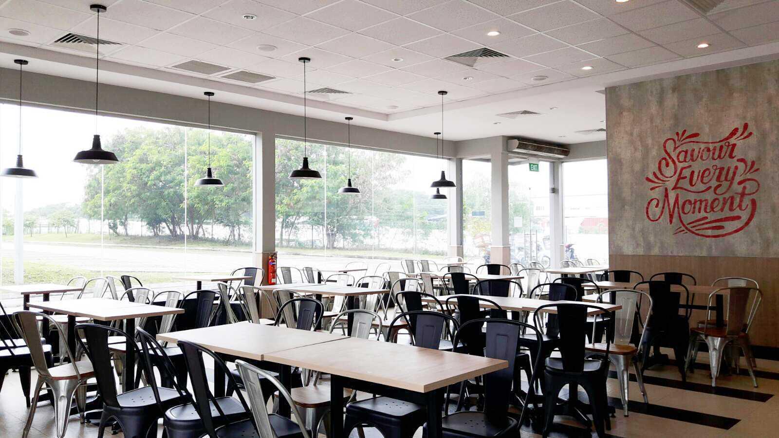Minimmax Interiors Pte Ltd Kfc Punggol  East  60 Punggol E, Singapore 828824 60 Punggol E, Singapore 828824 Dining Area Modern  38685