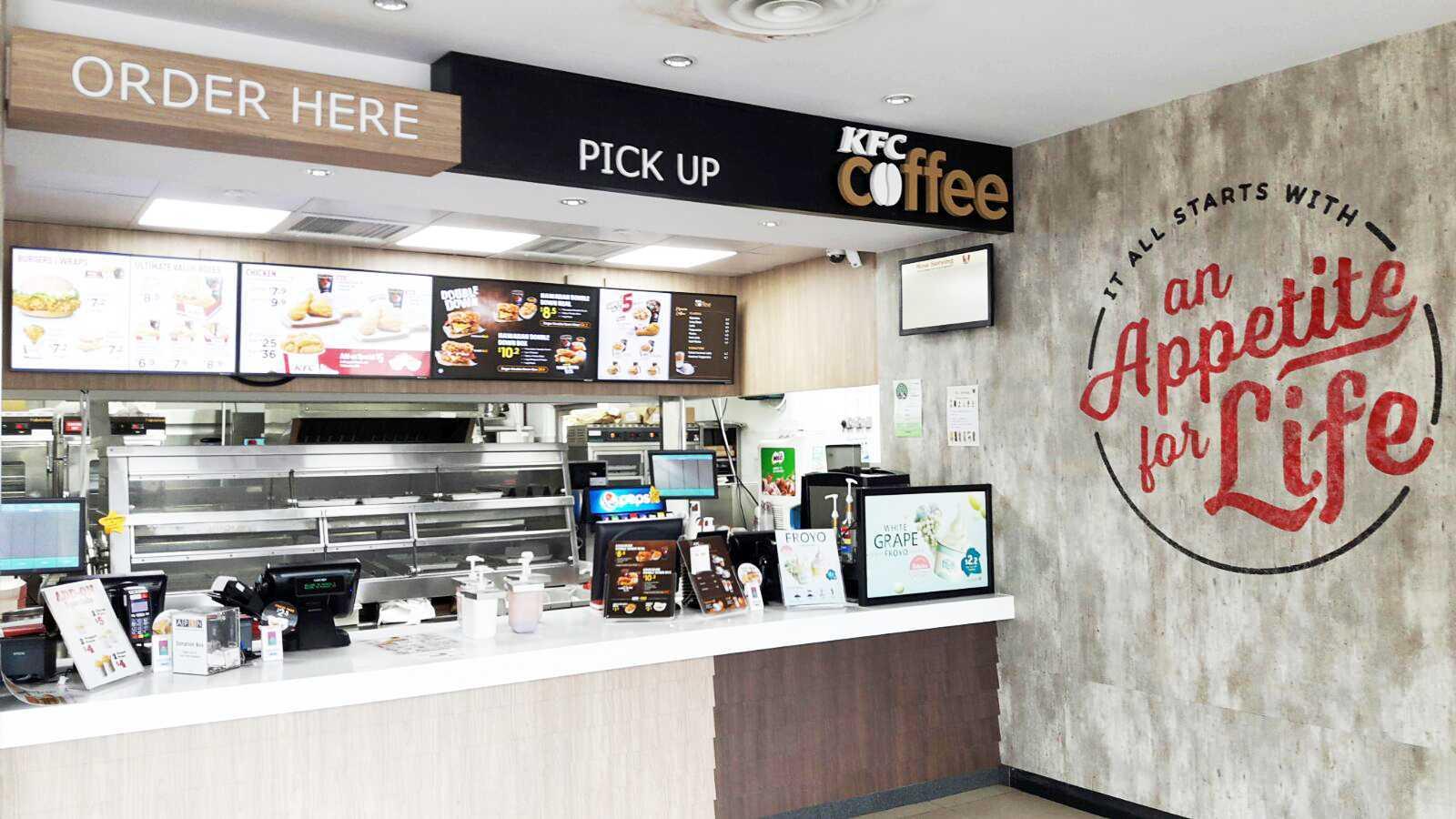 Minimmax Interiors Pte Ltd Kfc Punggol  East  60 Punggol E, Singapore 828824 60 Punggol E, Singapore 828824 Order Area Modern  38686