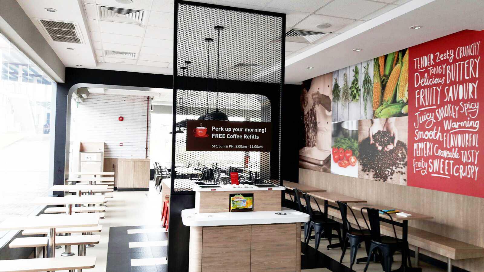 Minimmax Interiors Pte Ltd Kfc Punggol  East  60 Punggol E, Singapore 828824 60 Punggol E, Singapore 828824 Interior Modern  38687