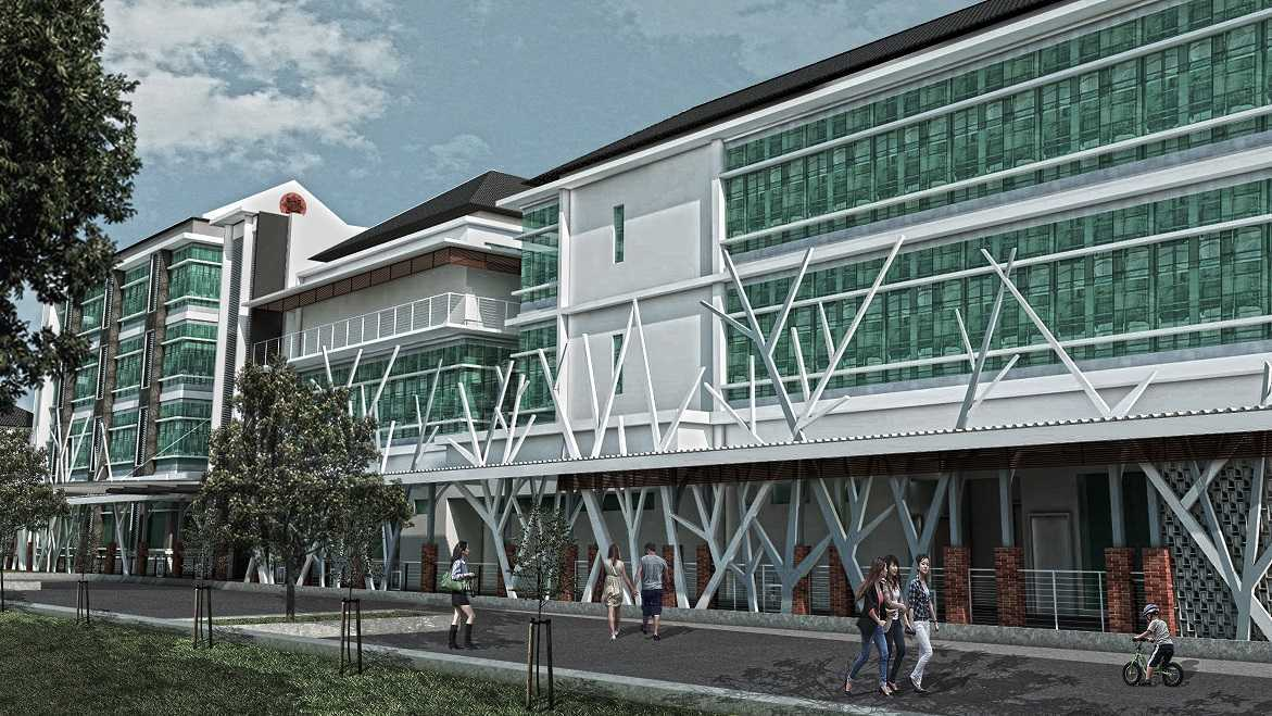 Vastu Cipta Persada Rumah Sakit Ibnu Sina Kabupaten Sragen, Jawa Tengah, Indonesia Kabupaten Sragen, Jawa Tengah, Indonesia Exterior Modern  39454