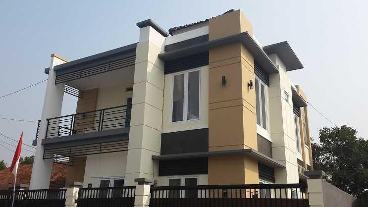 Fdesign Architect Pamulang House Pamulang, Kota Tangerang Selatan, Banten, Indonesia Pamulang, Kota Tangerang Selatan, Banten, Indonesia Exterior View Minimalist  49566