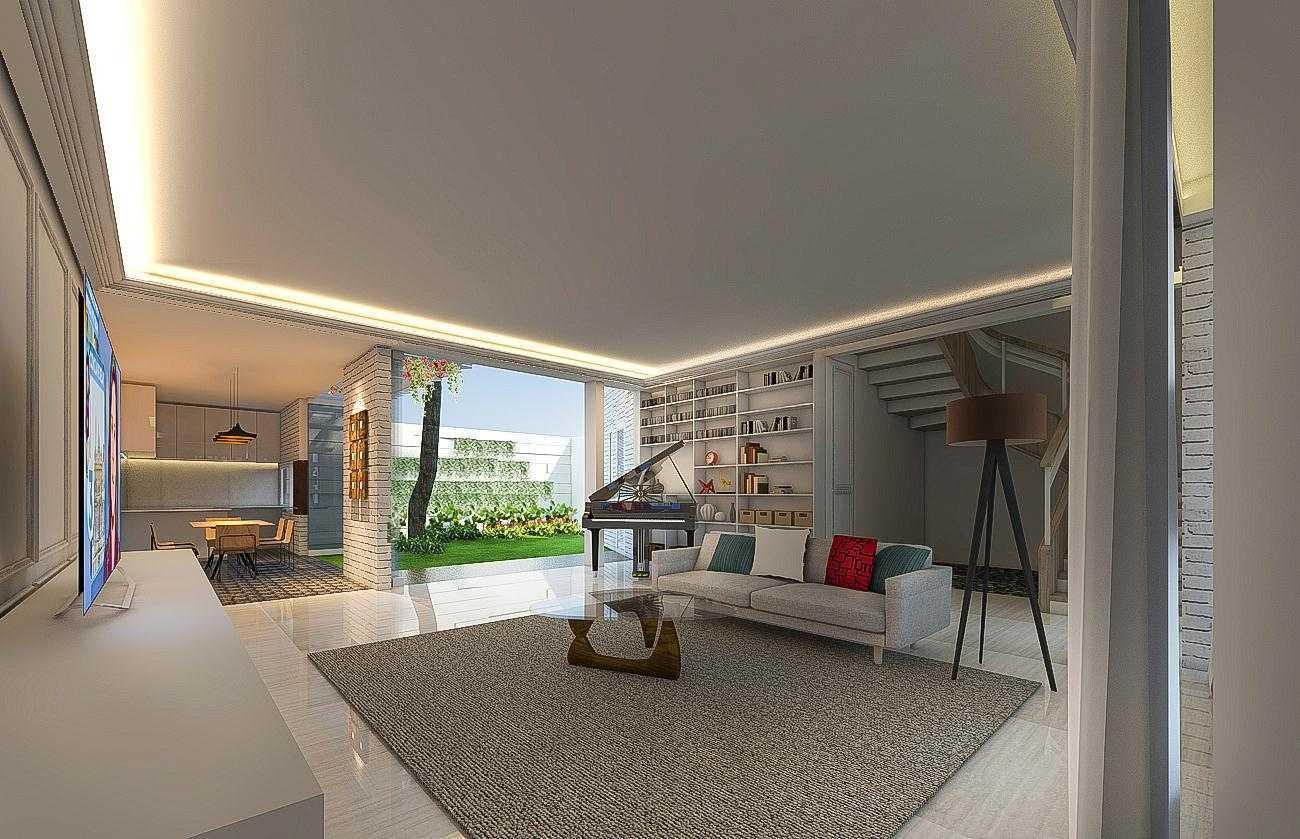Cnd Architect Rumah Jati Asih Jatiasih, Kota Bks, Jawa Barat, Indonesia Jatiasih, Kota Bks, Jawa Barat, Indonesia Family Room Kontemporer  43729