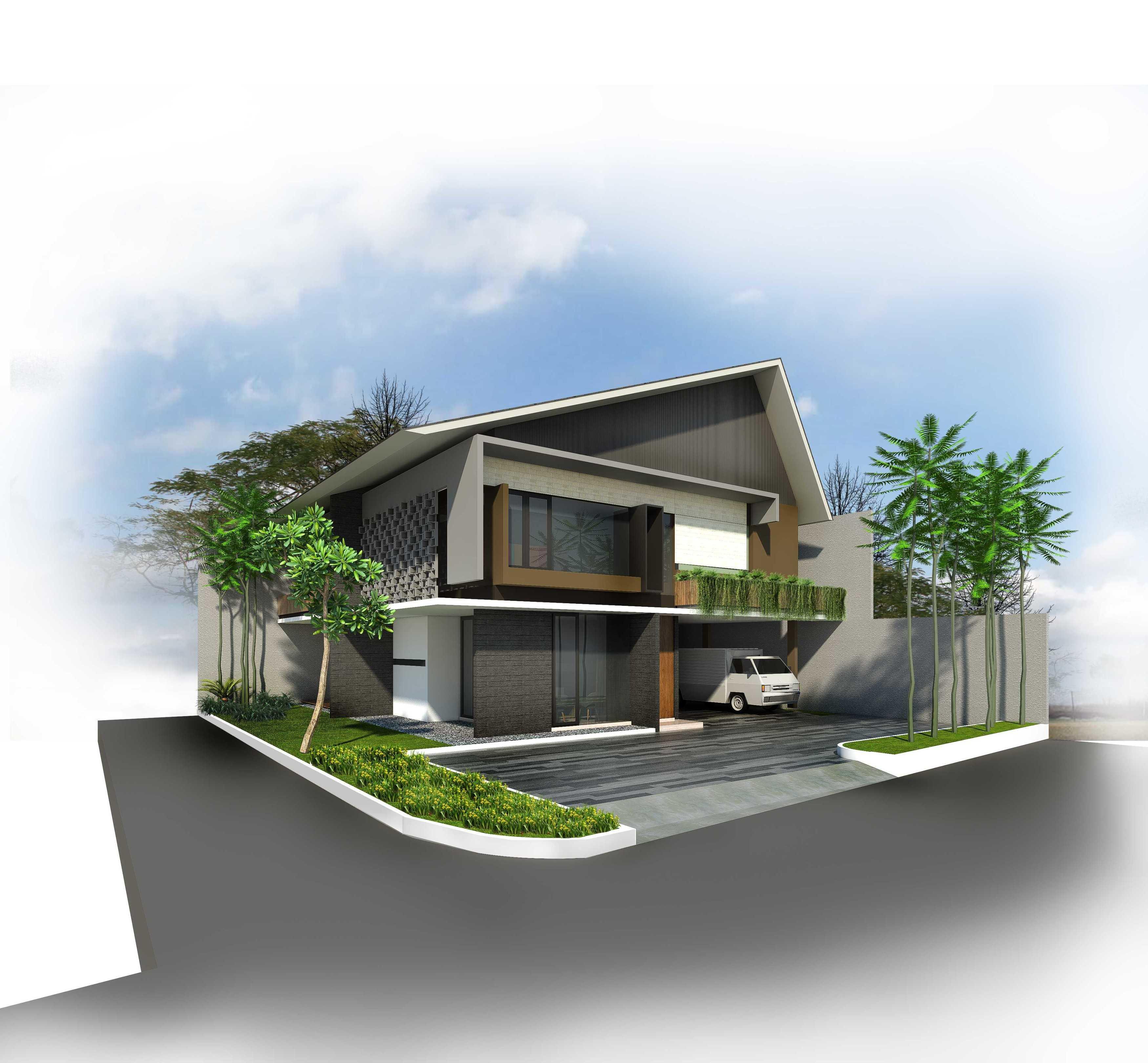 Cnd Architect Rumah Jambi - 03 Jambi, Kota Jambi, Jambi, Indonesia Jambi, Kota Jambi, Jambi, Indonesia Rumah Jambi 03 - Exterior Contemporary <P>Tampak Depan Bangunan</p> 44921