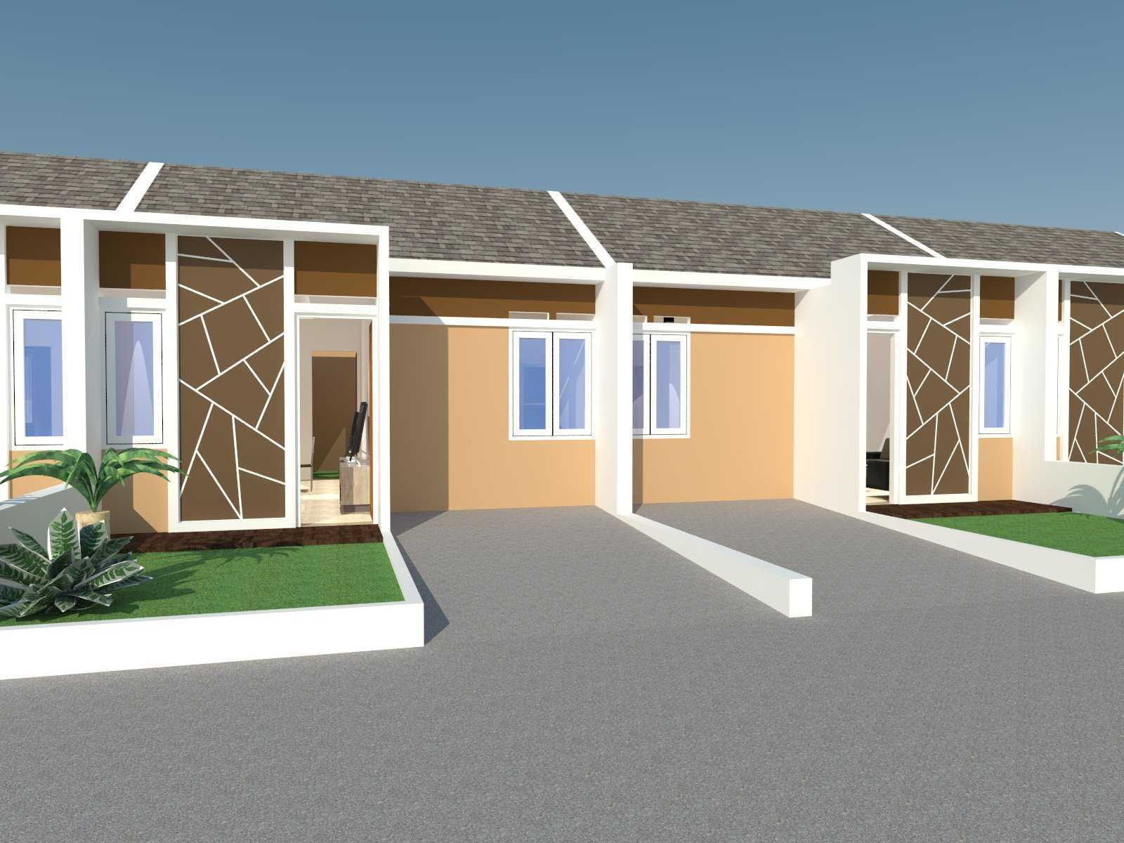 Photo Facade View Rumah Sederhana 6x12 6 desain arsitek ...