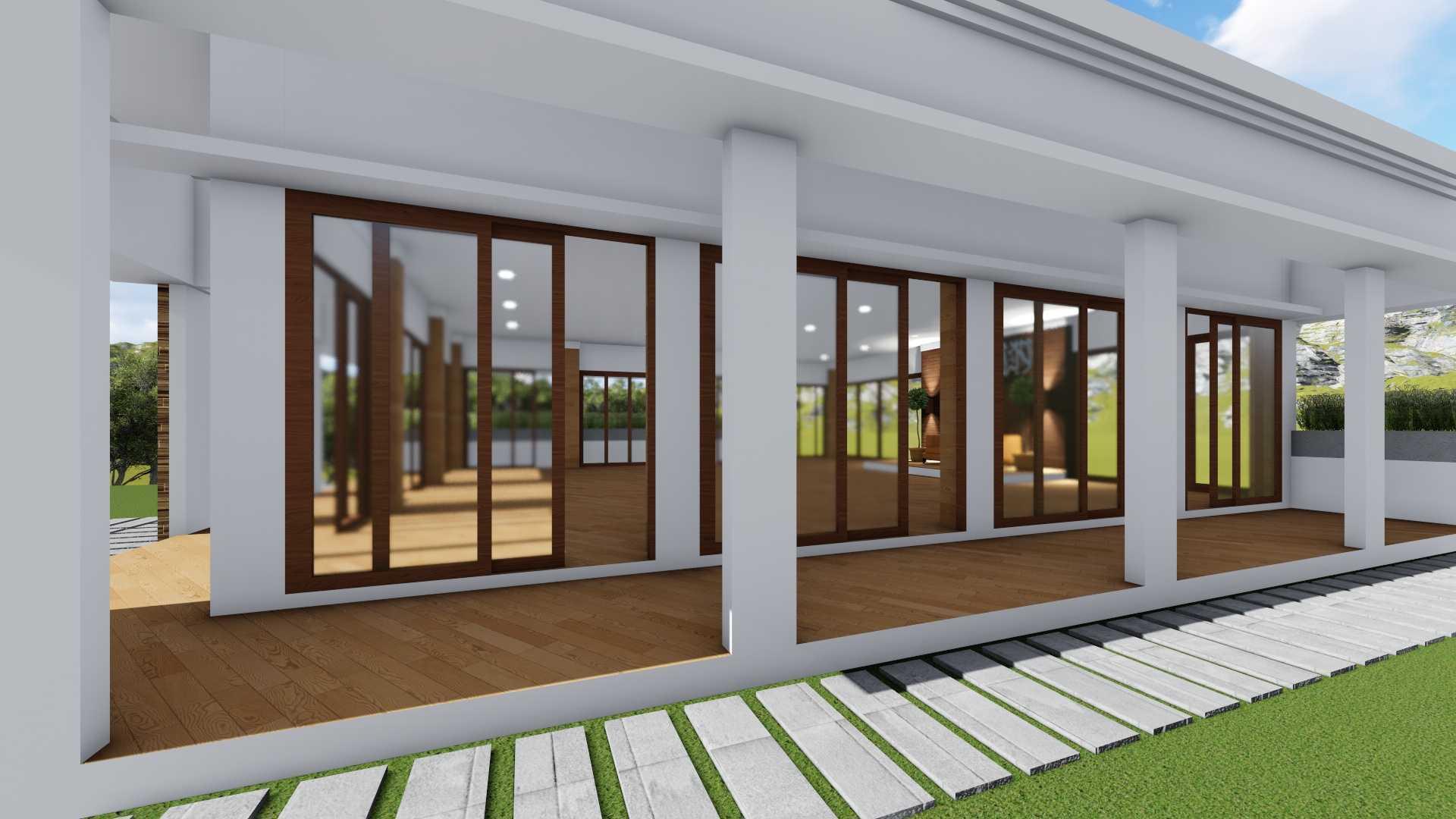Mannor Architect Balai Pertemuan Megamendung Bogor, Jawa Barat, Indonesia Bogor, Jawa Barat, Indonesia Side View   40421