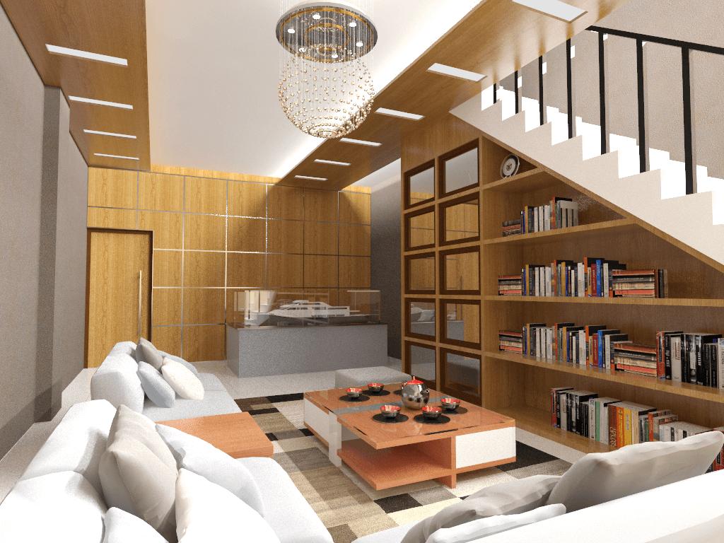 Mannor Architect Interior Ruko Skp Tangerang Tangerang, Kota Tangerang, Banten, Indonesia Tangerang, Kota Tangerang, Banten, Indonesia Living Room Modern  40705