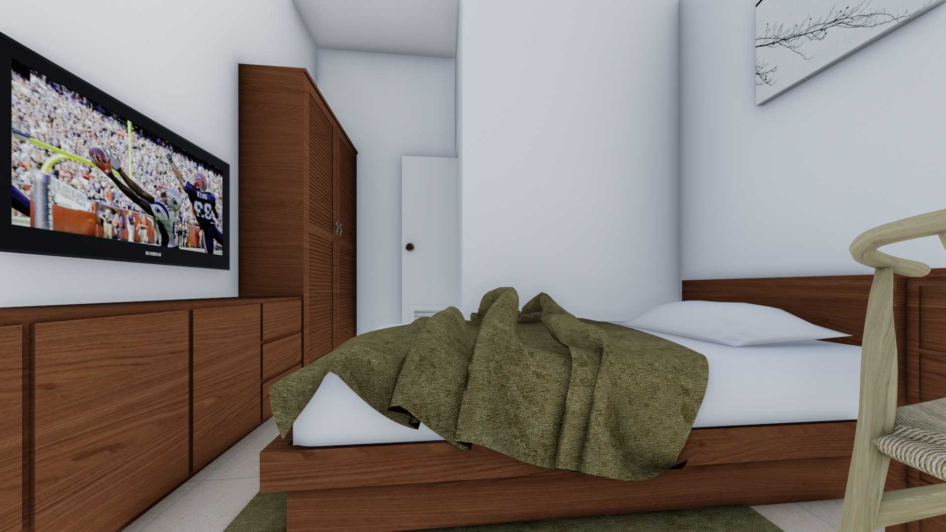 Mannor Architect Rumah Kos Depok Depok, Kota Depok, Jawa Barat, Indonesia Depok, Kota Depok, Jawa Barat, Indonesia Bedroom Minimalist  40743