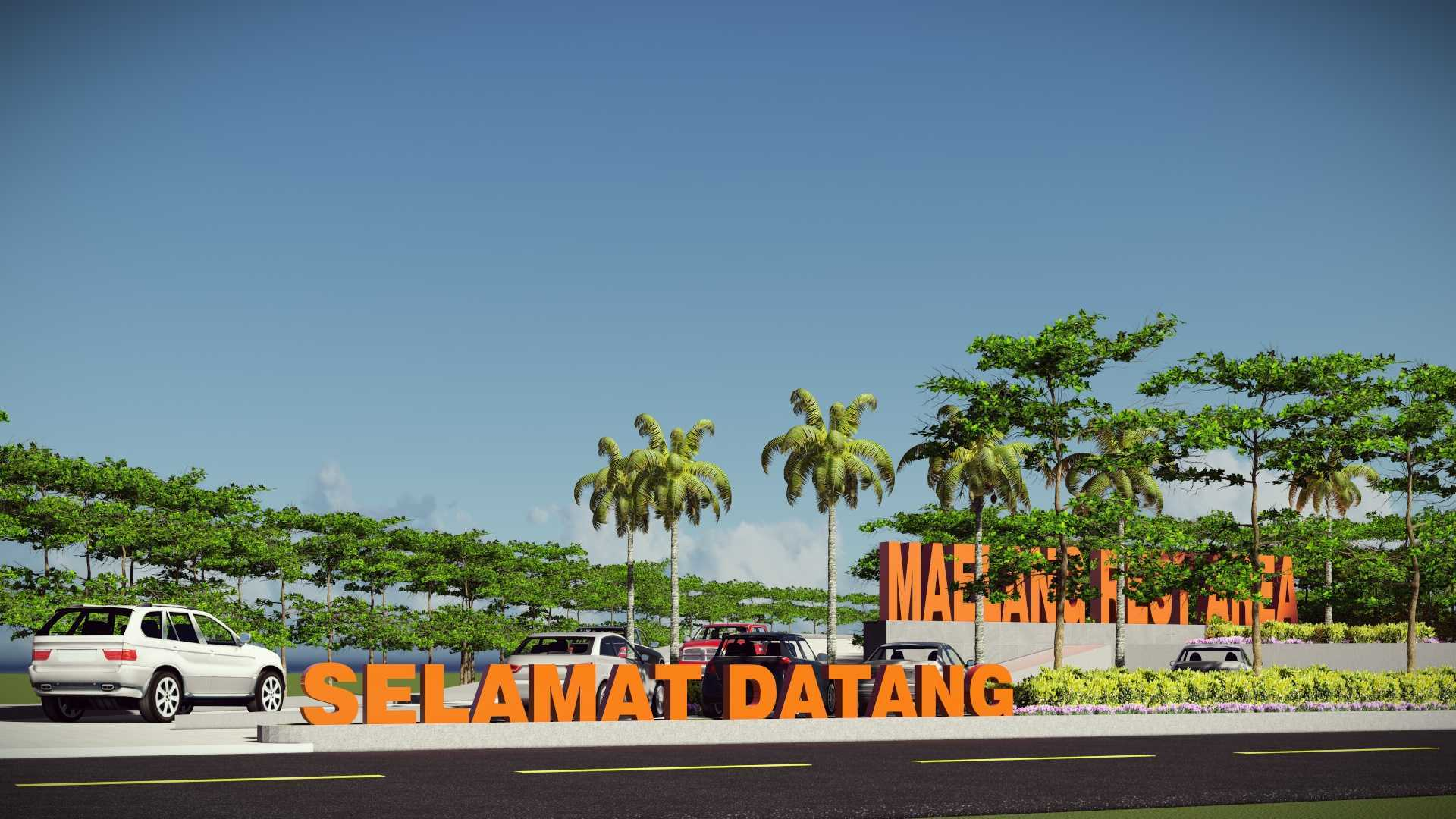 Mannor Architect Maelang Parking Area Gorontalo, Indonesia Gorontalo, Indonesia Maelang Rest Area Tropical  40744