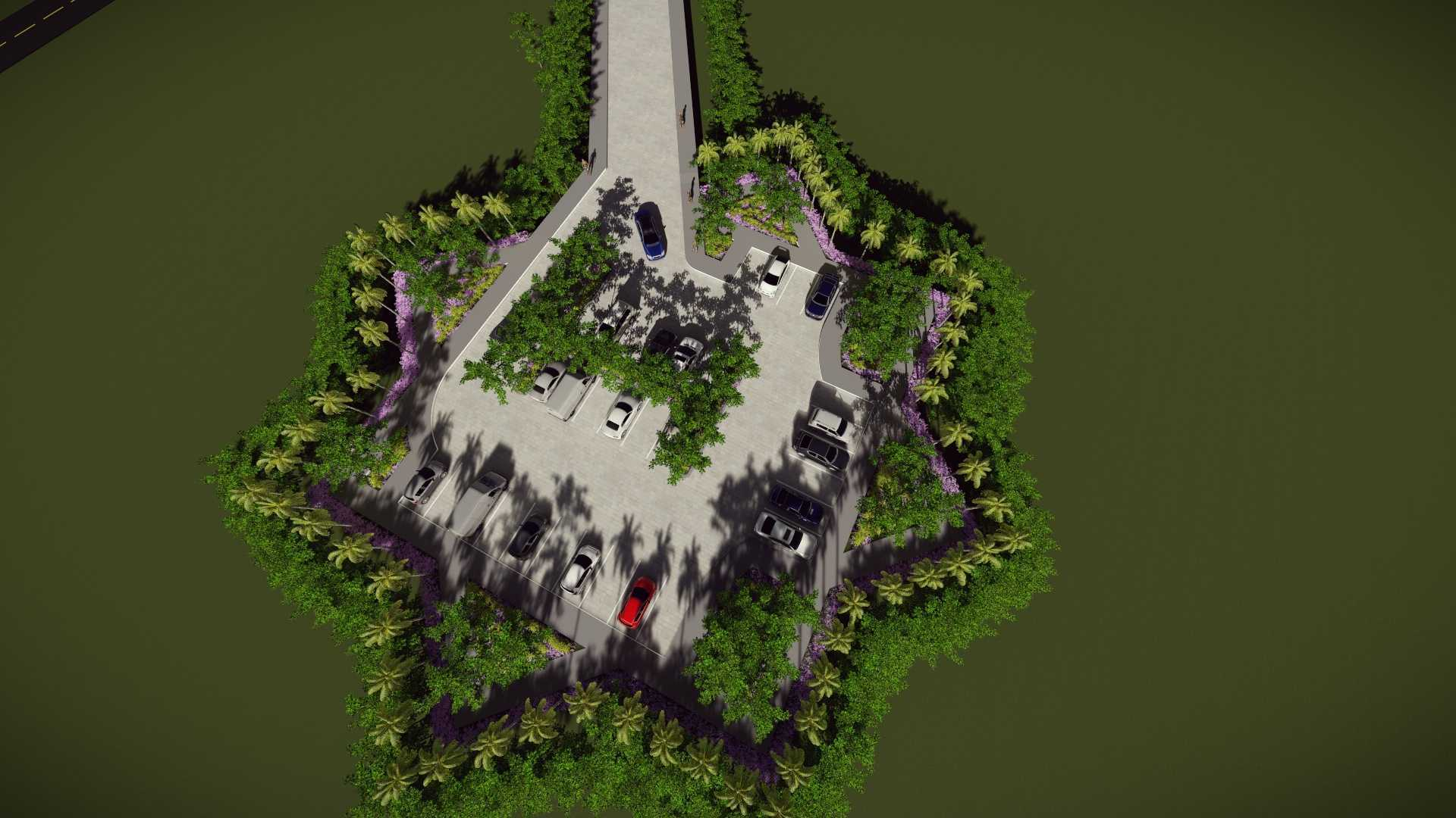 Mannor Architect Maelang Parking Area Gorontalo, Indonesia Gorontalo, Indonesia Bird Eye View   40750