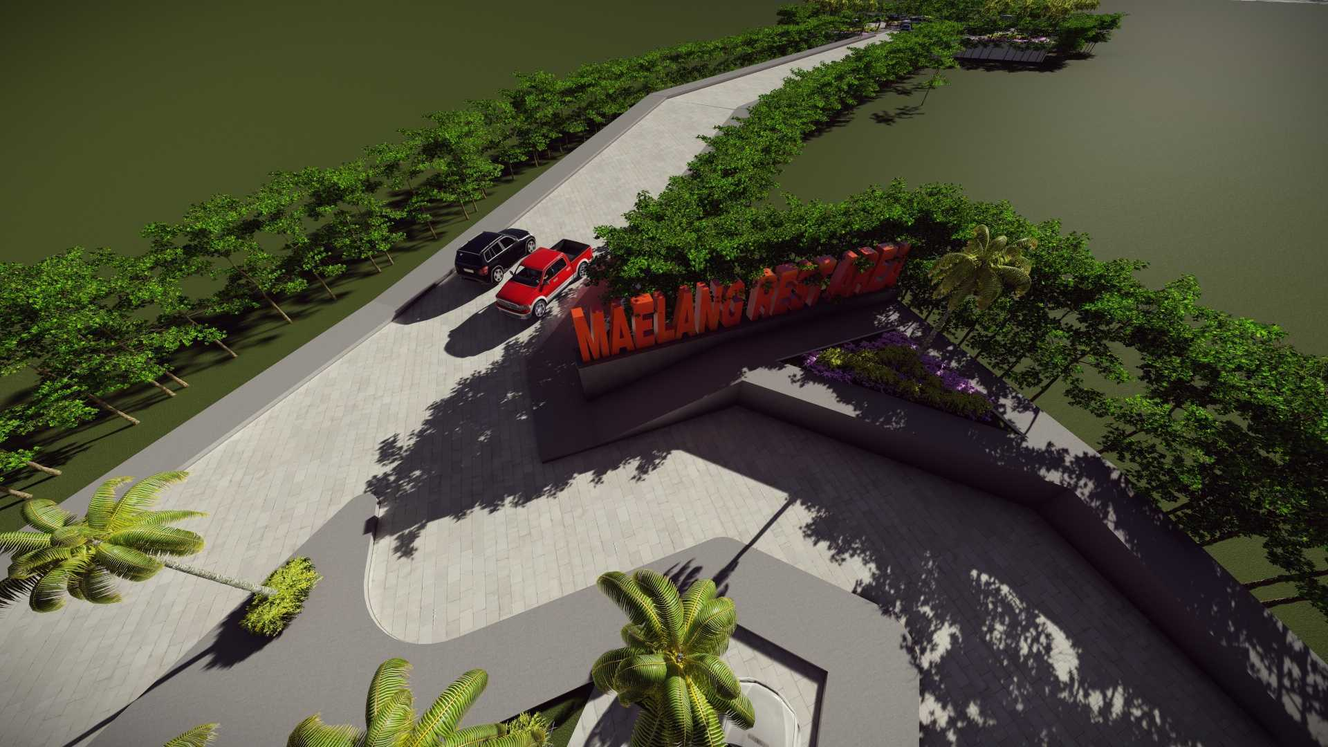 Mannor Architect Maelang Parking Area Gorontalo, Indonesia Gorontalo, Indonesia Bird Eye View   40752