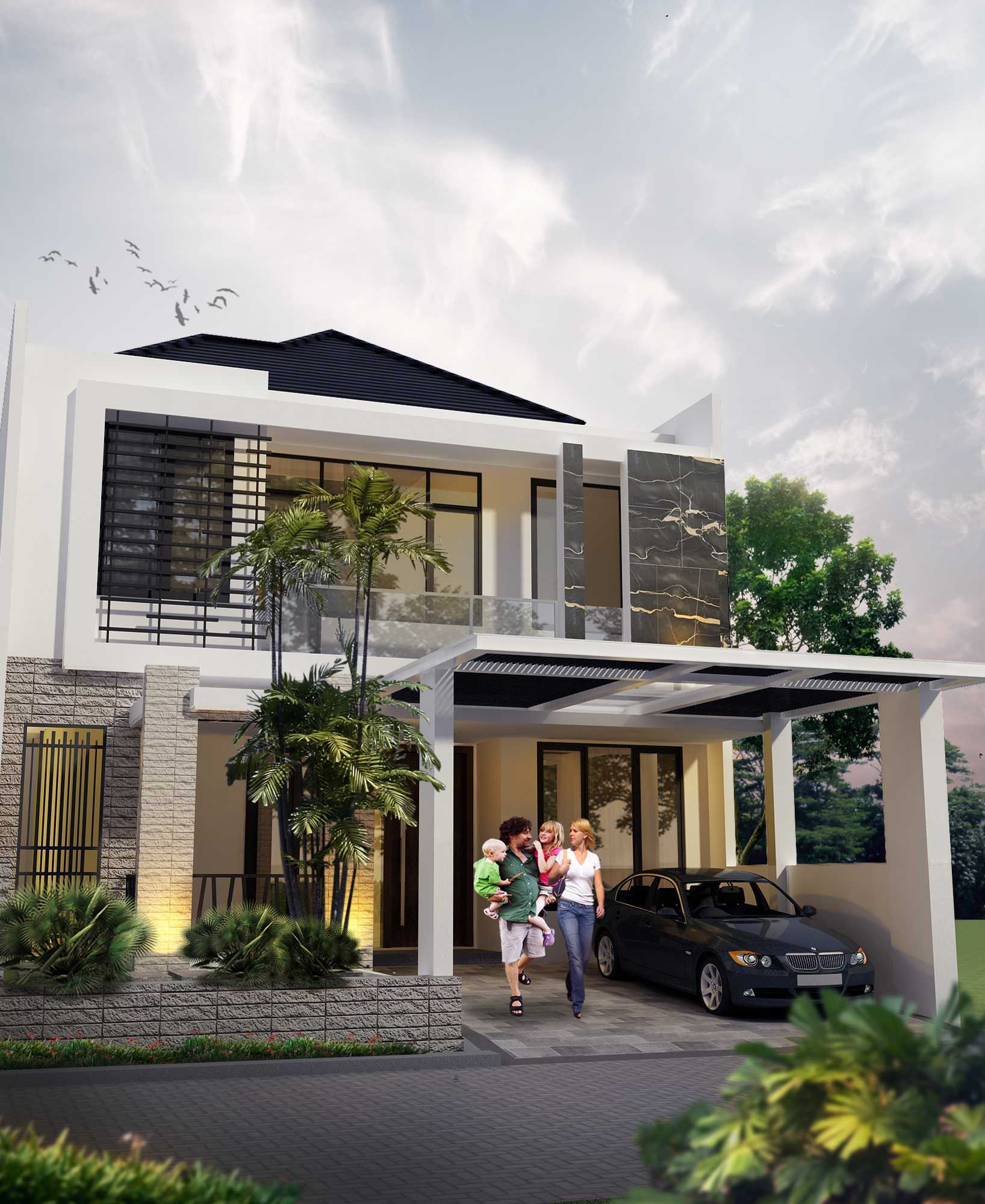 Winner Architecture T Tropical House Jemur Wonosari, Wonocolo, Kota Sby, Jawa Timur 60235, Indonesia Jemur Wonosari, Wonocolo, Kota Sby, Jawa Timur 60235, Indonesia T Tropical House - Exterior Tropical  40963