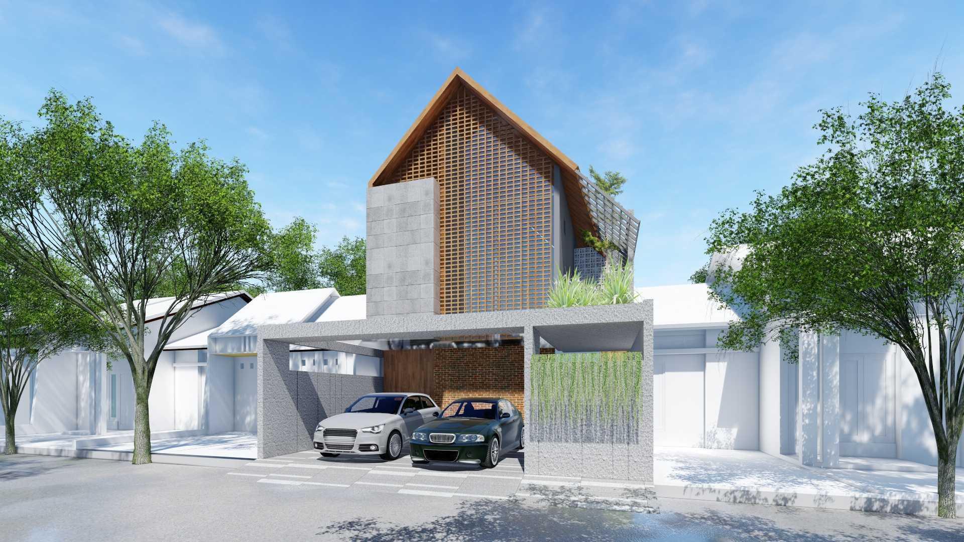 Adefa Studio Md House Bogor, Jawa Barat, Indonesia Bogor, Jawa Barat, Indonesia Exterior View Tropical  50629