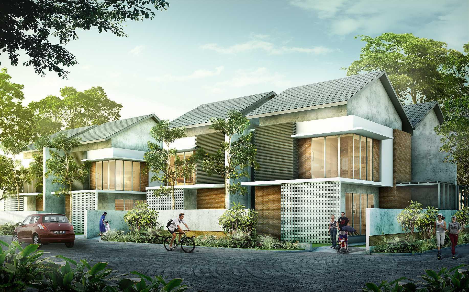 Cravt Studio Permata Residence Magelang, Jawa Tengah, Indonesia Magelang, Jawa Tengah, Indonesia Facade View Minimalist  43629