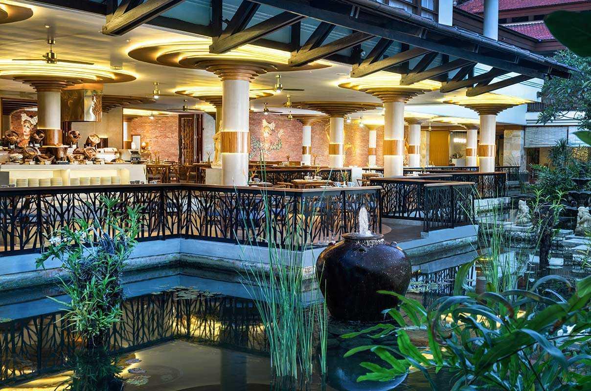 Archiola Wedang Jahe Restaurant -Nusa Dua Beach Hotel & Spa Kawasan Btdc Pariwisata Nusa Dua Lot. North 4, Benoa, Kuta Selatan, Benoa, Kuta Sel., Kabupaten Badung, Bali 80363, Indonesia Kawasan Btdc Pariwisata Nusa Dua Lot. North 4, Benoa, Kuta Selatan, Benoa, Kuta Sel., Kabupaten Badung, Bali 80363, Indonesia Exterior View Contemporary <P>Wedang Jahe Exterior View</p> 48728