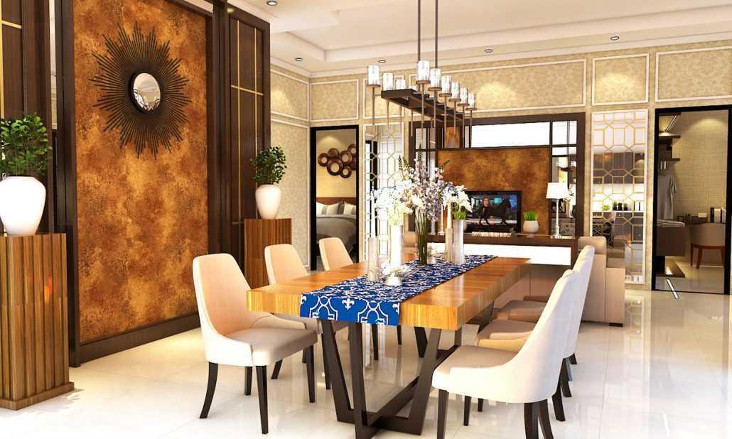 Vh Interior Colombus Cluster Cibubur, Ciracas, Kota Jakarta Timur, Daerah Khusus Ibukota Jakarta, Indonesia  Dining Room Kontemporer  42221