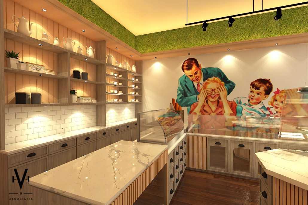 Vh Interior Ronna's Bakery Shop Serpong, Kota Tangerang Selatan, Banten, Indonesia Serpong, Kota Tangerang Selatan, Banten, Indonesia Counter Area Skandinavia  42272