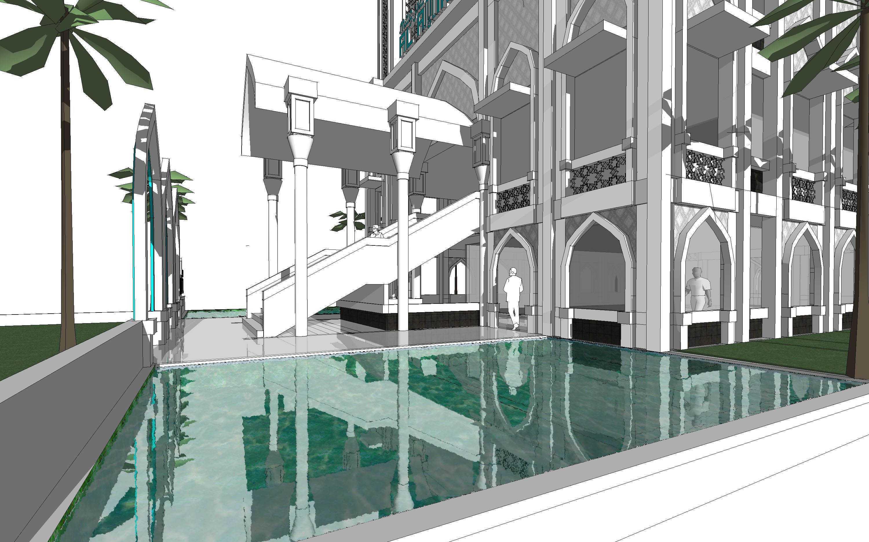 Arsigram Masjid At Serpong Serpong, Kota Tangerang Selatan, Banten, Indonesia Serpong, Kota Tangerang Selatan, Banten, Indonesia Pond Klasik  42720
