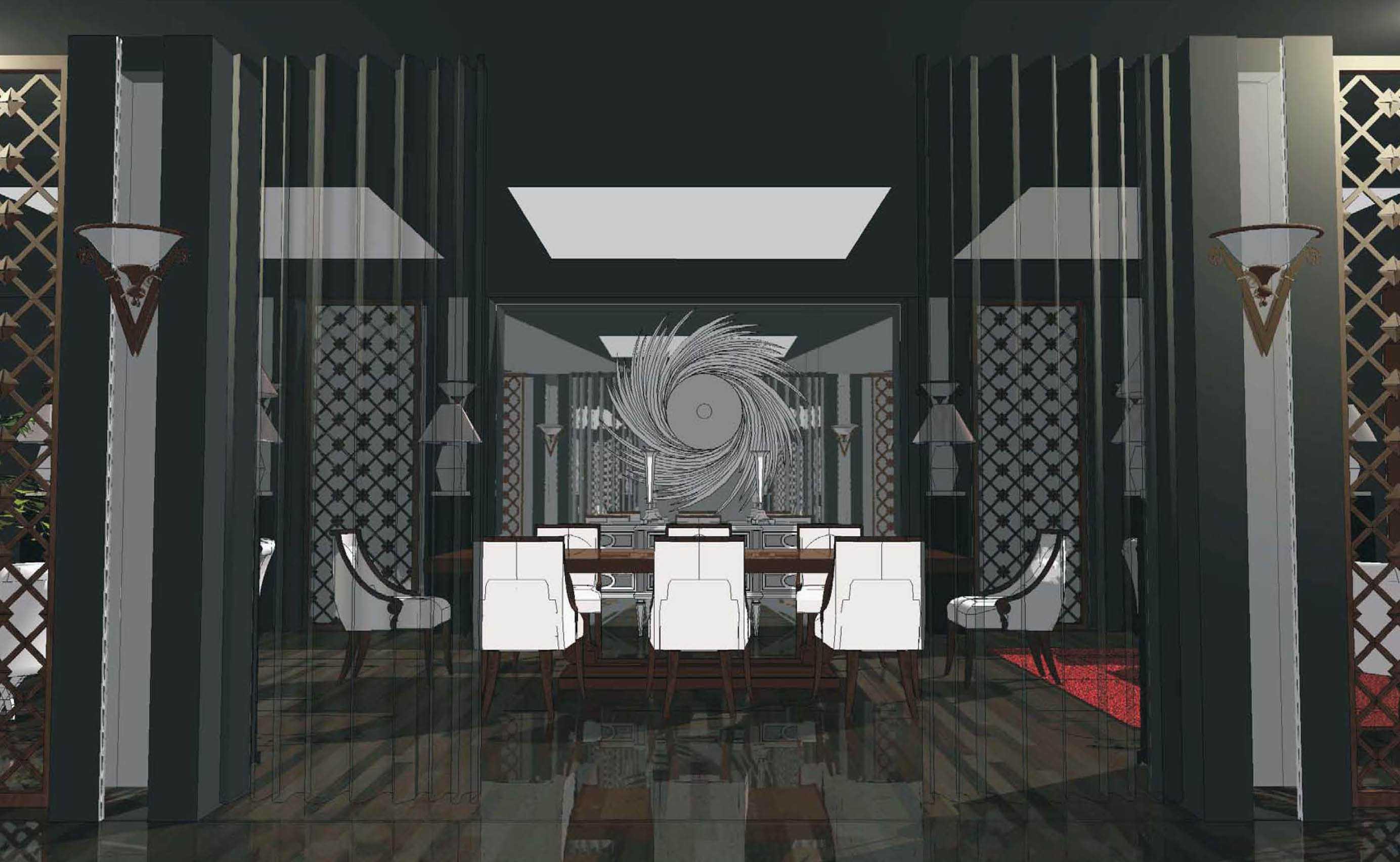 Arsigram Interior Showroom Furniture Daerah Khusus Ibukota Jakarta, Indonesia Daerah Khusus Ibukota Jakarta, Indonesia Meeting Room Klasik  43647