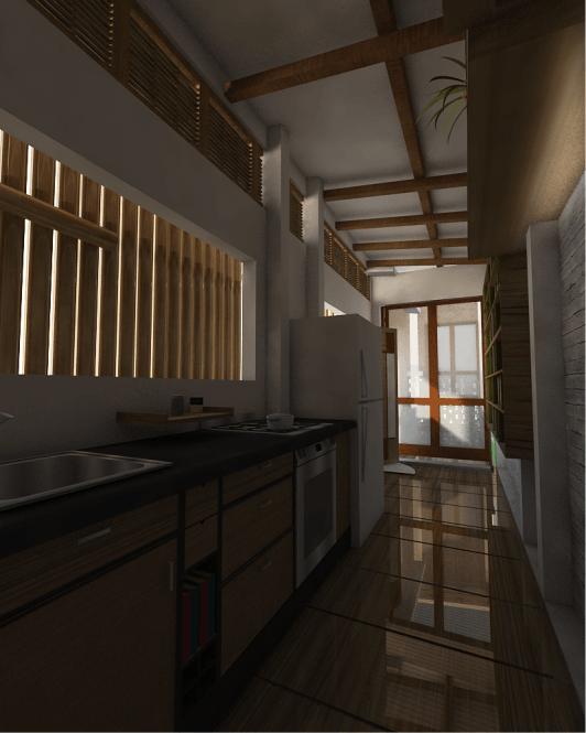 Liika Studio Rumah Senja Samarinda, Kota Samarinda, Kalimantan Timur, Indonesia Samarinda, Kota Samarinda, Kalimantan Timur, Indonesia Rumah Senja - Kitchen   44834